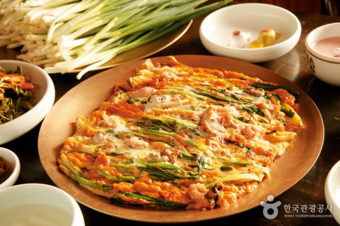 Bánh rán kim chi Hàn Quốc - Món ăn Hàn Quốc dễ làm nhất