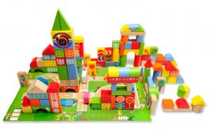 Các loại đồ chơi xếp hình, lắp ráp giúp bé phát triển nhận thức và óc sáng tạo