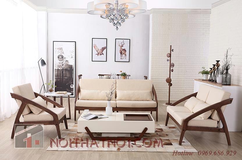 Bộ bàn ghế gỗ đẹp cho gia đình