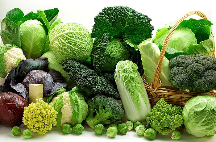 Các loại rau xanh cũng được khuyến khích người tập gym giảm cân