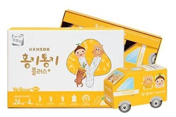 Hồng sâm Baby Hamsoa Hàn Quốc đạt tiêu chuẩn GMP, ISO, KFDA (Hàn Quốc)