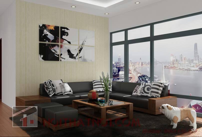 Bộ bàn ghế sofa gỗ tự nhiên đẹp cao cấp nhất