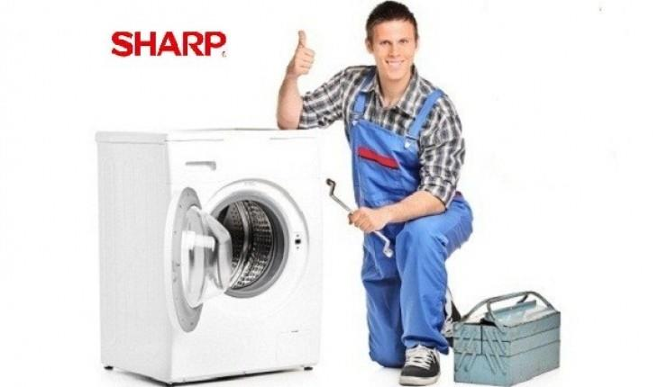 Gọi thợ đến sửa chữa máy giặt Sharp