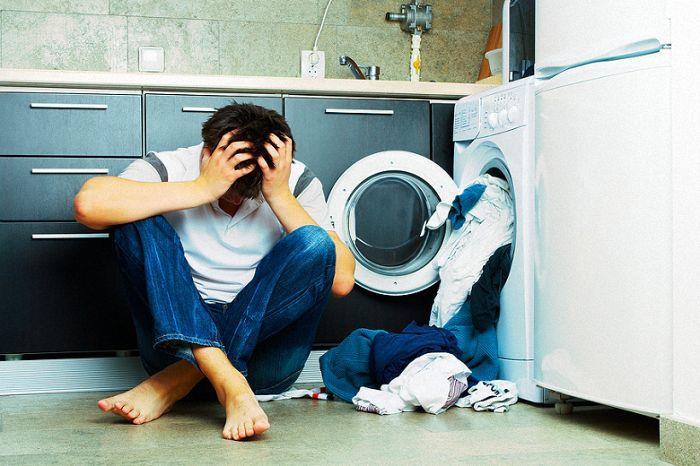 Máy giặt không hoạt động