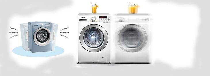 Máy giặt rung mạnh và kêu quá to