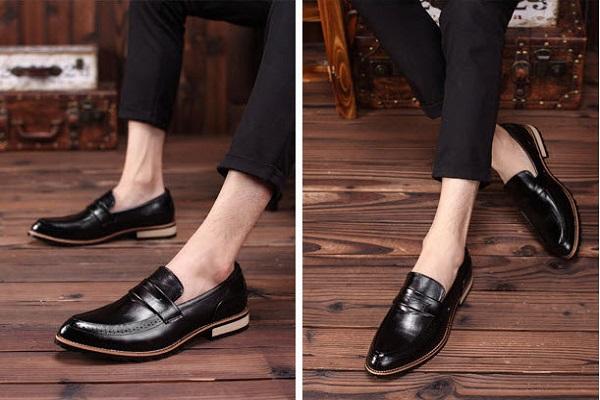 họn giày nam phù hợp với vóc dáng