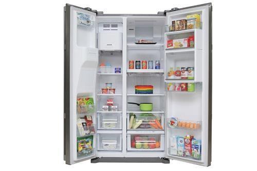 Không nên để thức ăn quá tải trong tủ lạnh