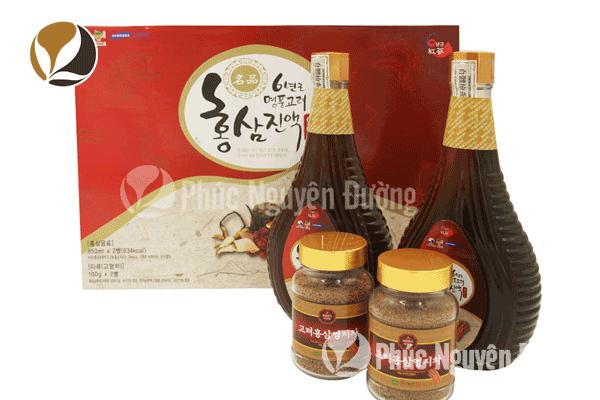 Giới thiệu nước hồng sâm linh chi Hàn Quốc