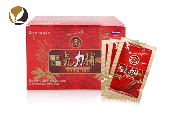 Bí quyết cho làn da khỏe đẹp nhờ nước hồng sâm Korean Red Ginseng Giryeokbo