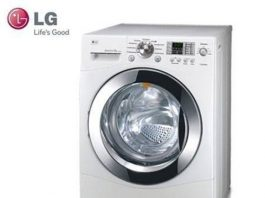 Cách xả hết nước trong máy giặt LG