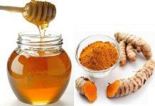 Tác dụng làm đẹp dạ của tinh bột nghệ vàng và mật ong
