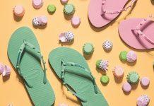 Top những kiểu sandal nữ đế bệt phổ biến