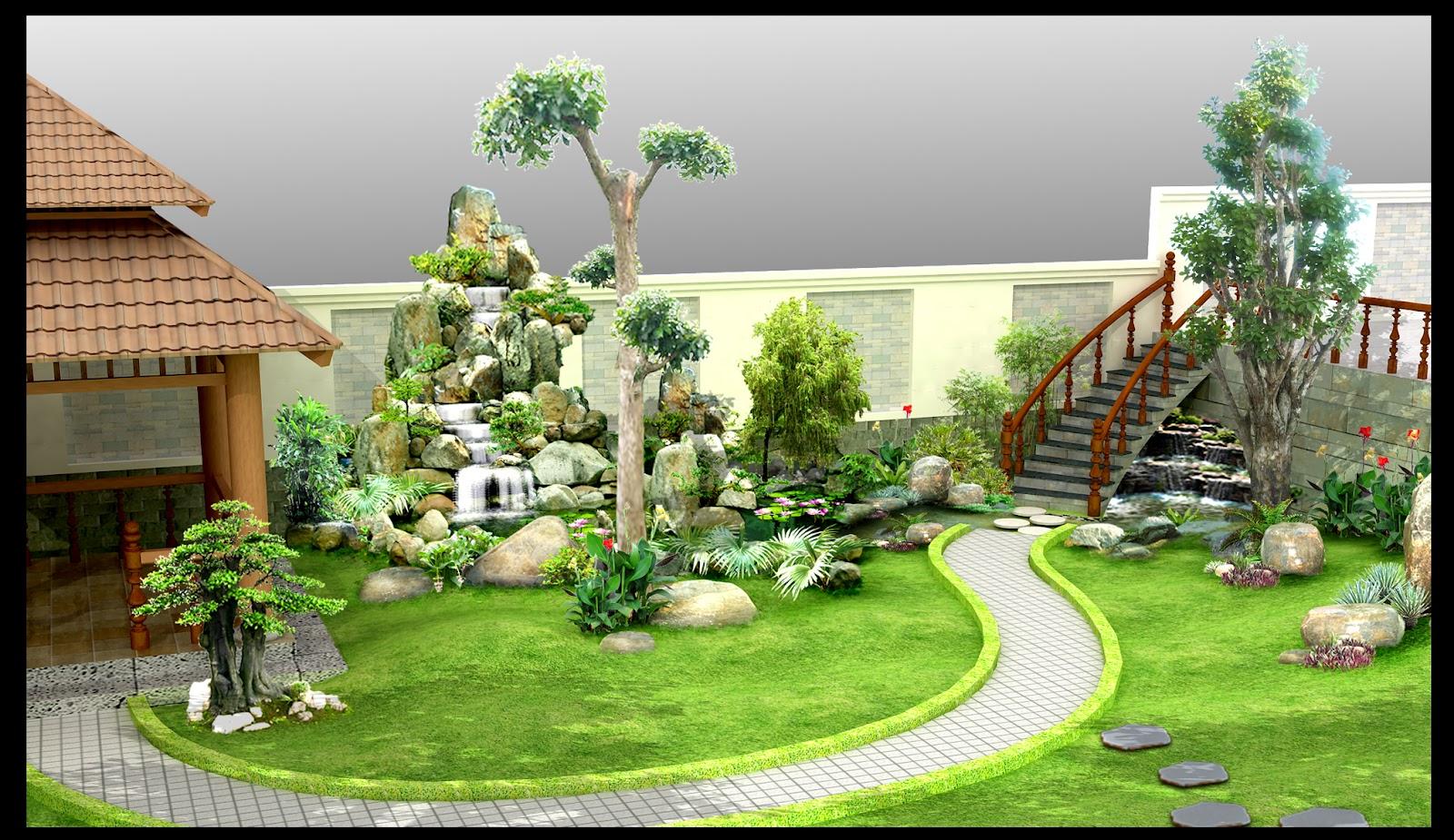 Gợi ý tiểu cảnh sân vườn cực chất đẹp