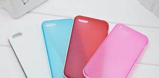 Mẫu ốp điện thoại silicon màu