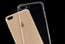 Ốp lưng iphone 7 plus S-Case Silicon