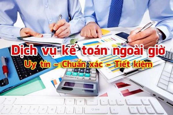 Dịch vụ kế toán huyện Nhà Bè uy tín, chất lượng