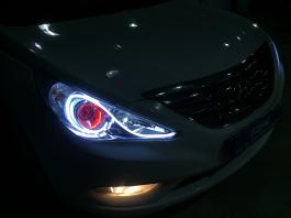 Độ đèn pha giúp xe có ánh sáng tốt hơn