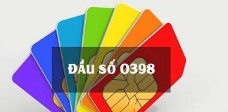 0398 thuộc nhà mạng nào?0398 thuộc nhà mạng nào?